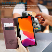 Load image into Gallery viewer, Apple iPhone 12 Mini Cases Flip Window PU Leather Card Slot Cover for iPhone 5 5S SE 2020 6 6S 7 8 Plus X XS Max XR 11 12 Pro Max - yhsmall