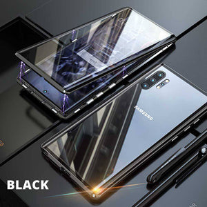 Samsung Galaxy Note 10/10Plus Double Side Tempered Glass Magnetic Case Cover - yhsmall
