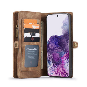 Samsung Cases Multi-function Wallet Cover for Galaxy S20 S10 S9 S8 Plus S7 Edge Note 2010 9 8 - yhsmall