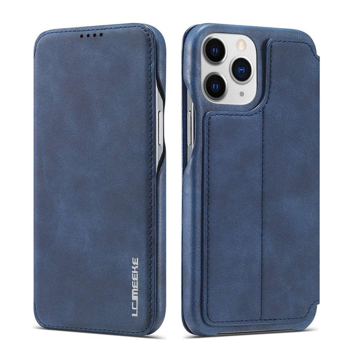 Apple iPhone Cases Magnetic Flip Window With Bracket Function Leather Cover for iPhone 6 6S SE 2020 7 8 Plus X XS Max XR 11 12 Pro Max