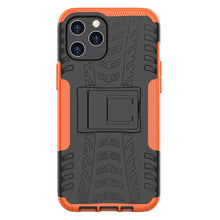 Load image into Gallery viewer, Apple iPhone Anti-slip Texture Cases Rugged Armor with Bracket Protective Cover for iPhone 12 11 Pro Max X XS Max XR 8 7 6S 6 Plus SE 2020 - yhsmall