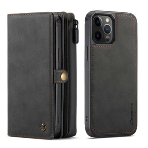 iPhone 12 Series Cases Multi-function Leather Protective Cover for Apple 7 8 SE 2020  X XS Max XR 11 12 Pro Max - yhsmall