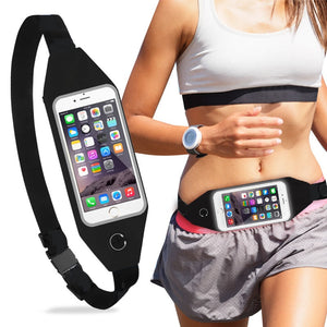 Running Armband Indoor Outdoor Adjustable Packs Running Sports Belt - yhsmall