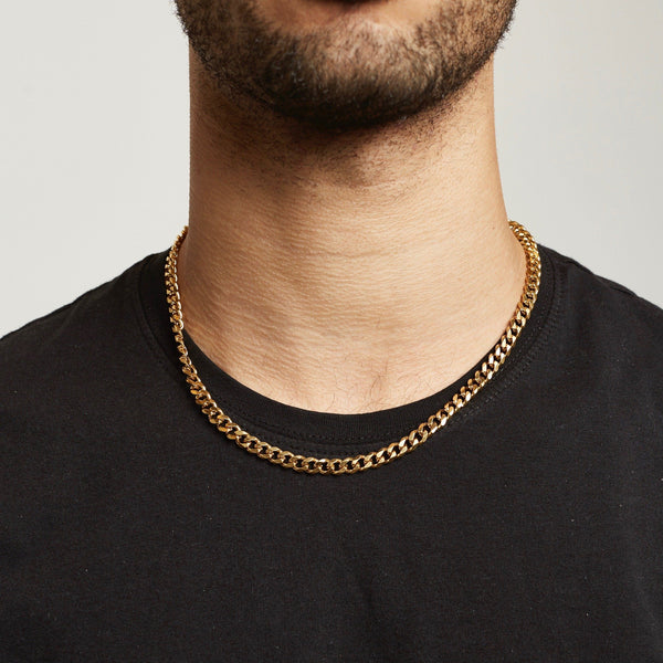 Cuban Chain - Gold chain Midnight City Jewellery