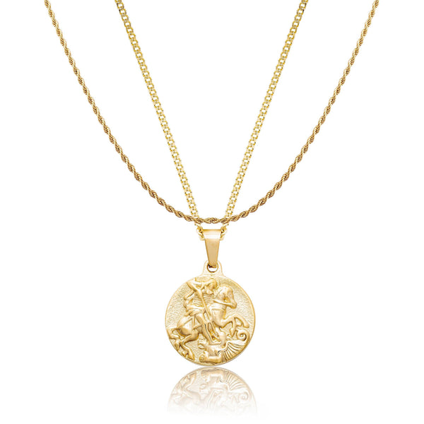 St George x Rope Gold Necklace Bundle necklace Midnight City Jewellery