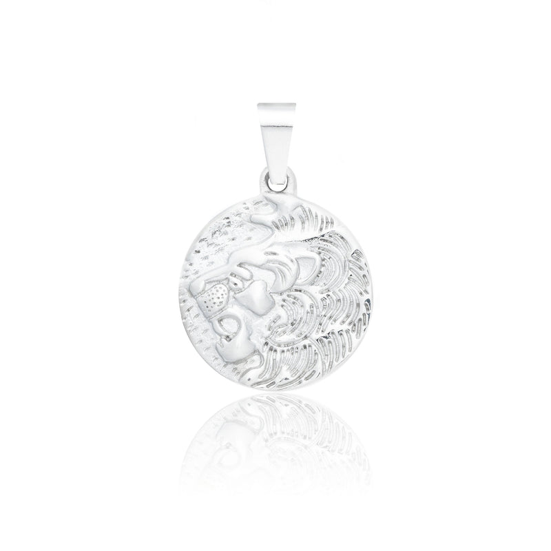 Pendant - Silver pendant Midnight City Jewellery Lion