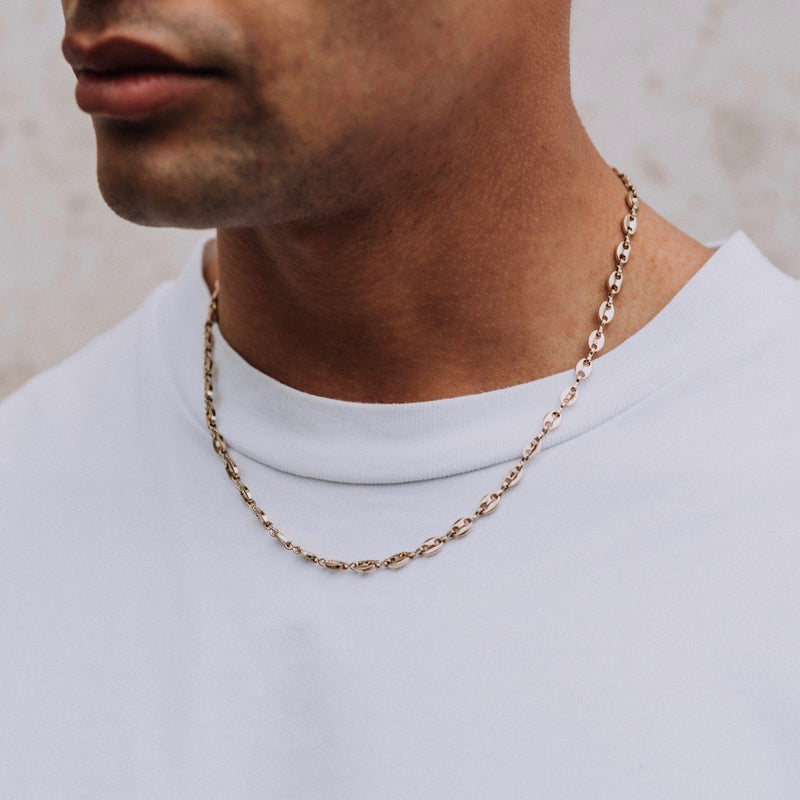 Mariner Chain - Gold 6mm chain Midnight City Jewellery