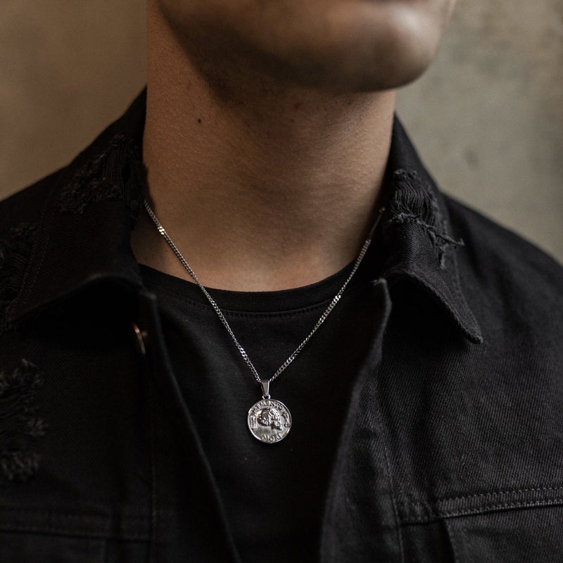Memento Pendant Necklace - Silver necklace Midnight City Jewellery