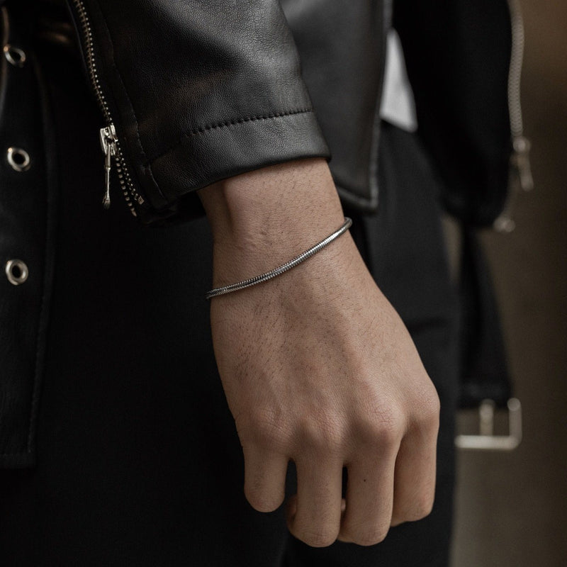 Snake Bracelet - Silver necklace Midnight City Jewellery