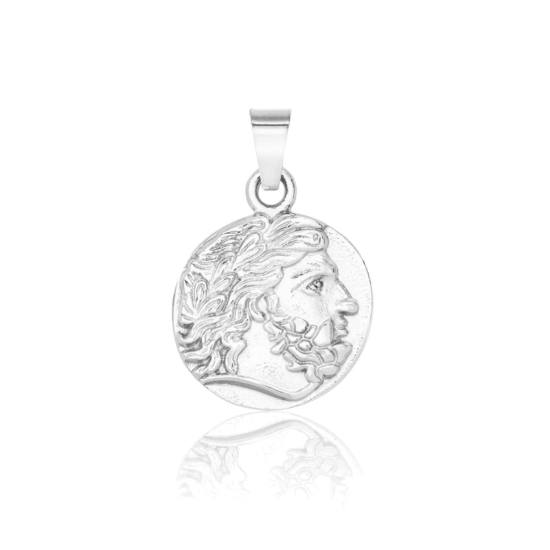 Pendant - Silver pendant Midnight City Jewellery Zeus