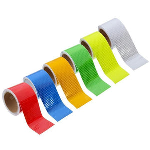 🔥Car Safety Reflective Sticker PVC Warning 3m Tape