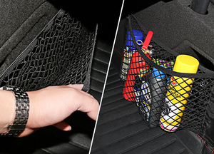 Car trunk velcro net