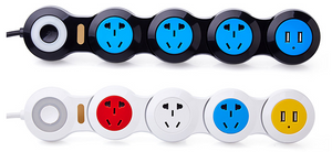 Creative deformation power strip