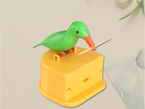 Automatic bird toothpick box