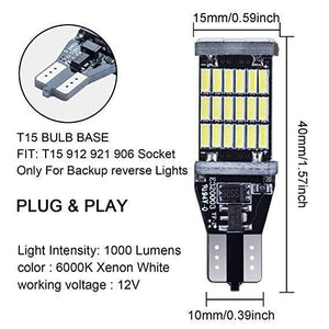 (Hot sale!!!)T15 Led super bright Reversing light