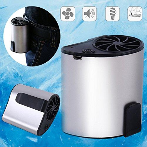 Portable hanging waist cooling fan