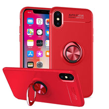 Load image into Gallery viewer, Invisible ring bracket TPU iphone case, magnetic car soft TPU case, Shockproof Anti-Scratch Ultra-Slim Protective Cover
