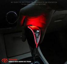 Load image into Gallery viewer, LED Light Car Sign Shift Knob——Touch Activate Multi-Color Light