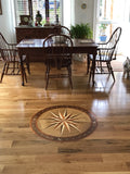 Character White Oak with Compass