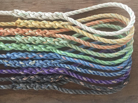Nautical and eco-friendly rope decor, pet leashes and garland under $50