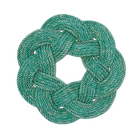 Aqua Rope Wreath