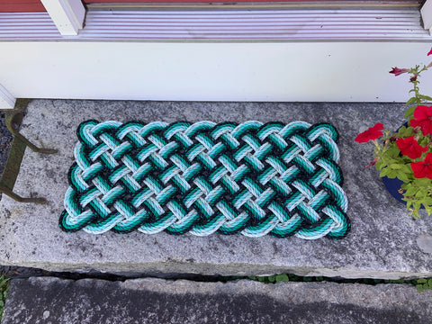 Green Propeller Mat - Step Sized
