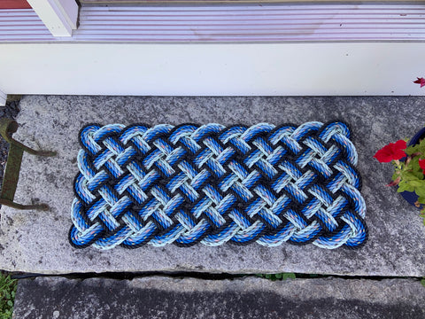 Blue Propeller Mat - Step Sized