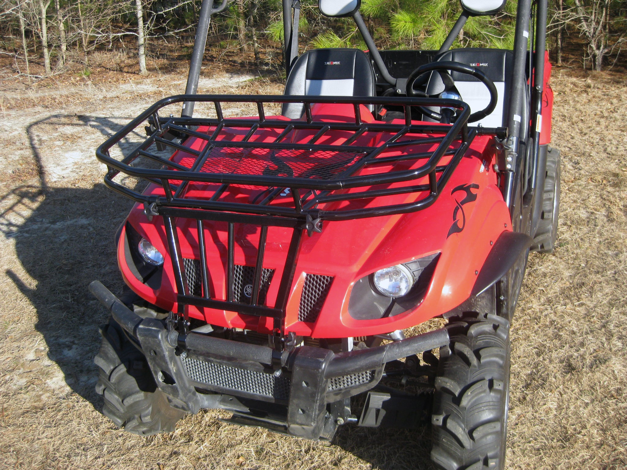 Seizmik UTV Brush Guard and Hood Rack Kit