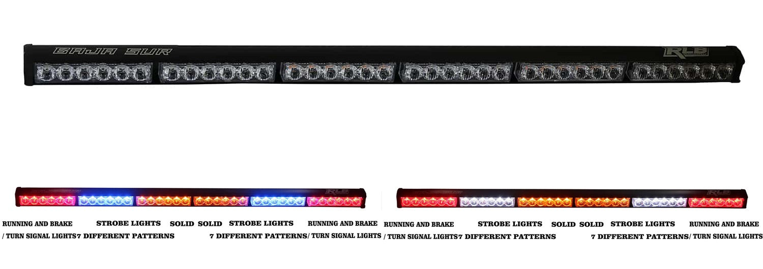 Rear Light Baja Chase  / Safety Bar