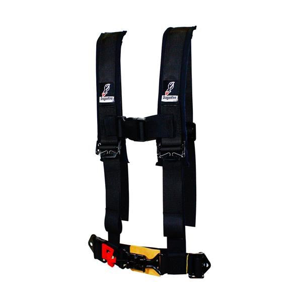 "Dragonfire Racing Safety Harness 4 Point 2"" Youth"