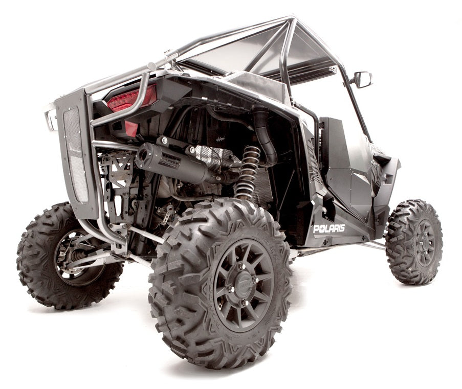 HMF SS Titan Side Exhaust Polaris RZR XP Turbo / S