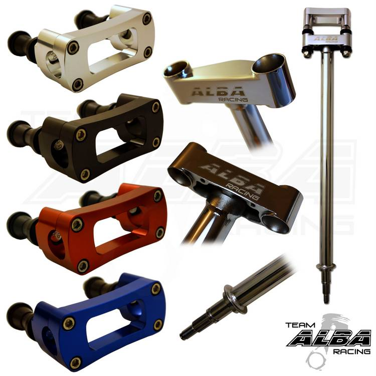 Alba Racing Chromoly Steering Stem Honda Sportrax TRX450