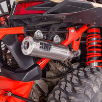 HMF SS Titan Side Exhaust CanAm Maverick X3