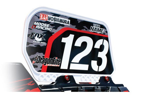 Dragonfire Racing Number Plate Kits