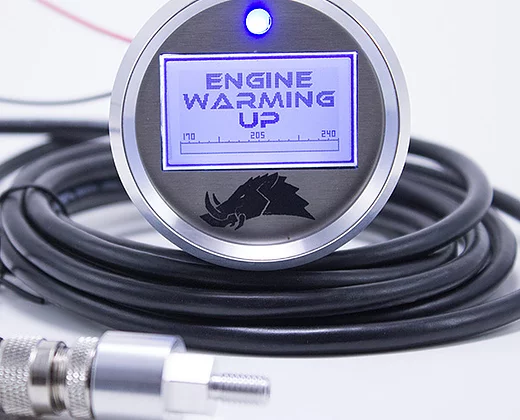 Razorback 3.1 Engine Temperature Gauge