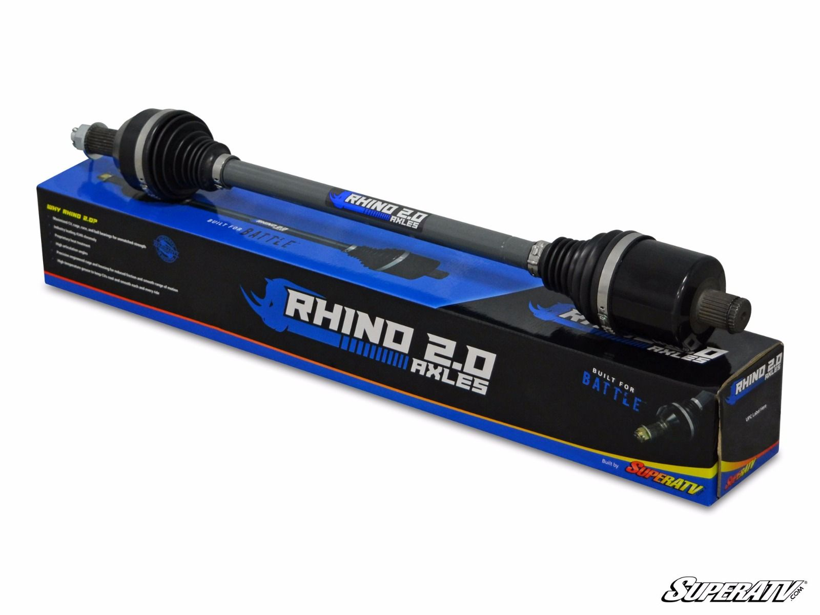 Rhino Heavy Duty Axles 2.0 AX01-004F0