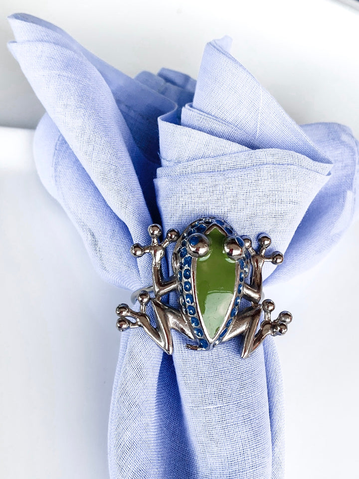 Frog Enamel Napkin Holder