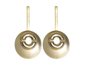 Statement Circular Badu Earrings