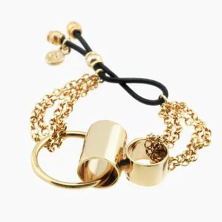 adjustable-gold-plated-forms-bracelet