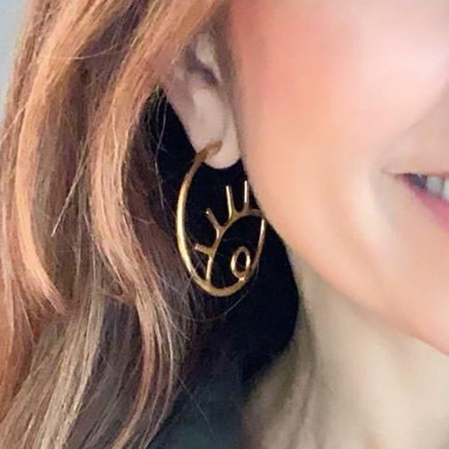 gold-plated-circle-evil-eye-earrings