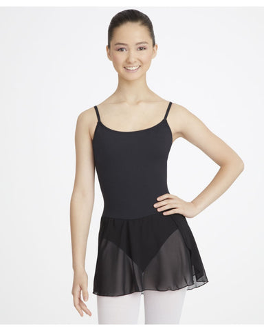 Camisole Strap Skirted Leotard