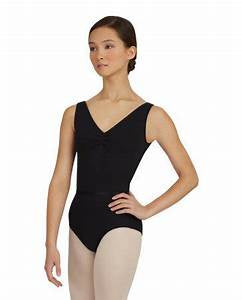 V-Neck Pinch Front Leotard