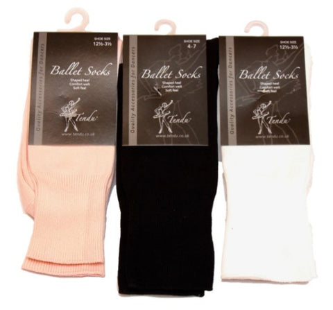 Ballet ankle socks