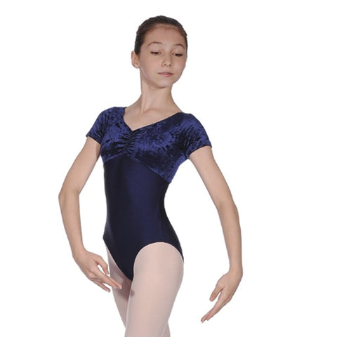 Teresa velour Leotard