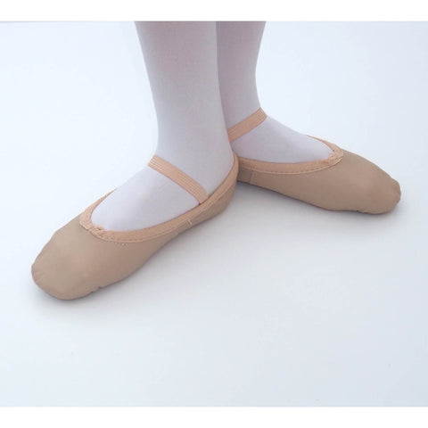 Leather ballet shoe child