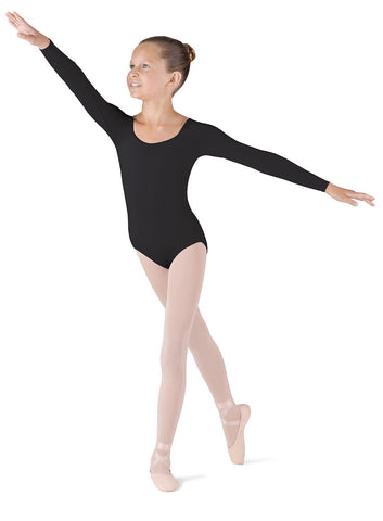 Basic long sleeve leotard child