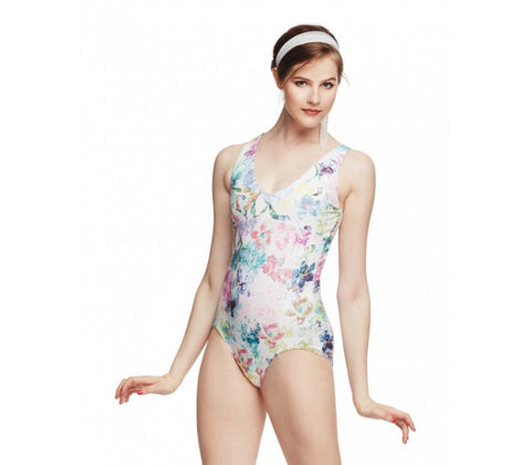 V neck leotard S315