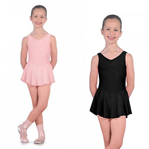 ISTD sleeveless skirted leotard
