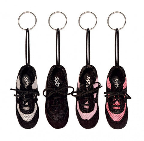 Mini sneaker key ring