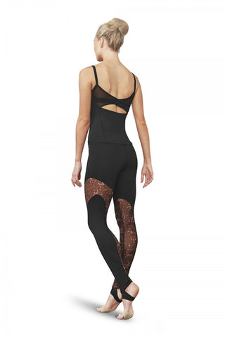 Gigi Mesh Panel Legging